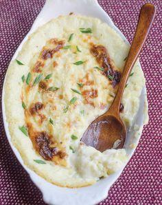 Make ahead - Goat Cheese Mashed Potatoes. Cauliflower mash? Mmm!