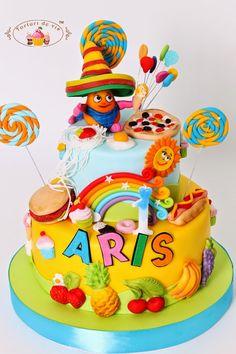 Tort cu Hungry Harry pentru Aris Girly Birthday Cakes, Girl Cakes, Let Them Eat Cake, Cake Decorating, Decorating Ideas, Kids, Children, Desserts, Food