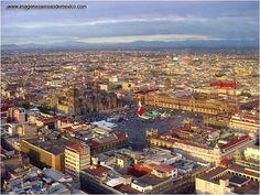 Zócalo en Cd. de México