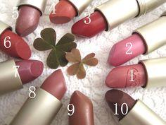 Logona lipsticks #bio #logona#naturcosmetika