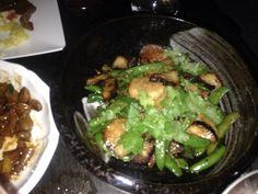 Black bean scallops  Buddakan NYC