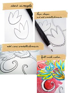 doodles | Alisa Burke