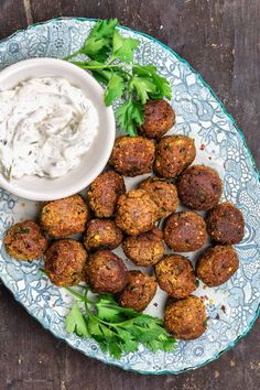 With a base of roasted eggplant, lentils, sweet potatoes + herbs and spices, these vegan meatballs have a rich and robust flavor even meat lovers enjoy! Serve them with marinara sauce for dinner or as an appetizer with your favorite dip!