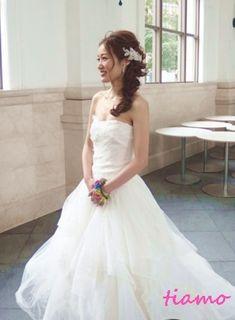 Black&Whiteのテーマカラーが素敵なこだわりWedding Party☆★ |大人可愛いブライダルヘアメイク『tiamo』の結婚カタログ