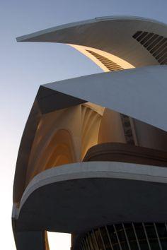 Palau de les Arts Reina Sofía. Ciudad de las Artes y las Ciencias. Valencia