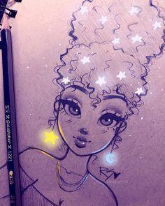 Sad Girl Drawing, Nose Drawing, Girl Drawing Sketches, Cool Art Drawings, Cartoon Drawings, Easy Drawings, Cartoon Art, Drawing Step, Girl Sketch