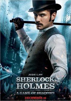 Sherlock Holmes 2 : Jeu d'ombres : affiche