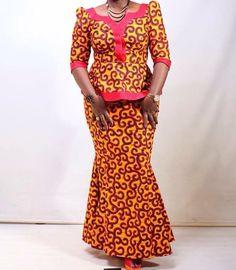 African Wear Dresses, Latest African Fashion Dresses, African Attire, African Fashion Traditional, Chic Outfits, Fashion Outfits, Ankara Dress, Zulu, Ankara Styles