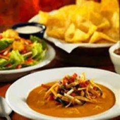 Chili's Chicken Enchilada Soup Chili's Restaurant Recipes Food & Drink picture