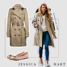 Jessica Hart - Trench au so French by AMAZE Celebrities