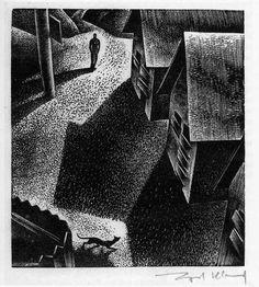 by Lynd Ward Norman Rockwell, Rockwell Kent, Schmidt, Illustrations, Illustration Art, Linocut Prints, Art Prints, Block Prints, Company Town