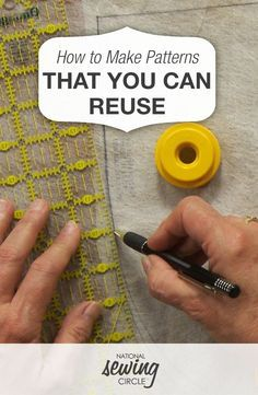 How to Make Patterns That You Can Reuse | NSC #LetsSew #sewing #tipsandtechniques