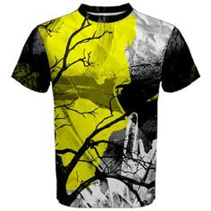 For those days when you just need a break from all the complexity.  This mesh tee will give you a conduit to sink deep into your mind to sort out problems or discover what you desire for your next adventure.