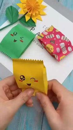 Cool Paper Crafts, Paper Crafts Origami, Diy Crafts For Gifts, Summer Crafts, Cute Crafts, Crafts For Kids, Paper Craft For Kids, Diy Gifts Paper, Resin Crafts