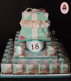 Torte di compleanno per donna, torte 18 anni,20,30,40,50,60,70,80,90,100 anni torte per lei