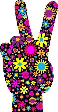 ☮American Hippie Art peace ☮ Art Peace Sign