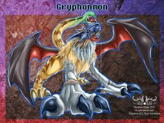 Digimon: Gryphonmon by *Juctoo on deviantART