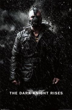 Dark Knight Rises - Bane Rain Print from AllPosters.com