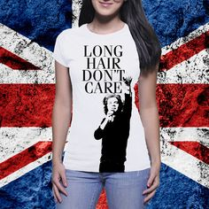 Harry Styles Long Hair Don't Care 1D One by FanGirlsGraceland, $15.00  #onedirection #harrystyles