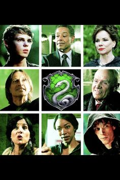 Slytherin sorted Upon a Time characters.