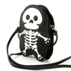 Premium Leatherette Skeleton Should Bag