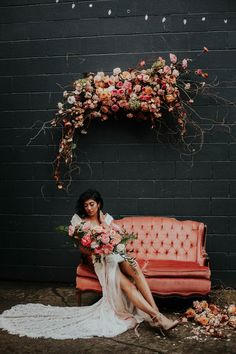 Industrial Wedding Inspo with Dusty Pink Wildflowers    How many googly-eyes have we made at this industrial wedding inspo with dusty pink wildflowers in the last 24 hours? The limit does not exist. Grace + charm mee https://ruffledblog.com/industrial-wedding-dusty-pink-wildflowers/?utm_campaign=crowdfire&utm_content=crowdfire&utm_medium=social&utm_source=pinterest