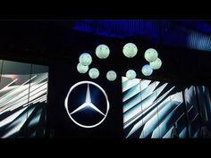 Mercedes-Benz Media Night - IAA 2015 - Ball Show - YouTube