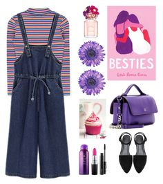 """Lazy look for the weekend"" by mydlak-katarzyna on Polyvore featuring moda, Penguin Random House, Marc Jacobs, Fendi, Bumble and bumble, MAC Cosmetics, NOVICA, look, ootd i lazy"