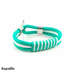Your place to buy and sell all things handmade Handmade Bracelets, Handmade Jewelry, Marine Rope, Nautical Bracelet, 18 Days, Rest, Europe, Canada, Notes