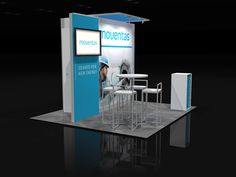 MOVE003 – 10×10 Trade Show Booth Rental find more on xibitmax.com or xibitrents.com #tradeshow #tradeshowbooth