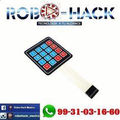 Something we liked from Instagram! Teclado matricial 4x4 compatible con arduino pic y raspberry. #robohack #arduino #mechatronics #electronics #mecatronica #electronica #electronic #electronicadigital #telecom #sistemas #robotics #robotica #dron #drone #3dprinter #3drobotics #makerbot #formlabs #DoItYourself #diyelectronics #diy #makerspace #makerspace #raspberry #apple #hacker #hackers #robotic #maker #makers #quadcopter by robohack_mexico check us out: bit.ly/1KyLetq
