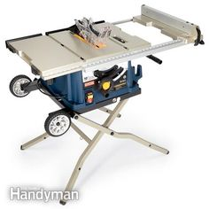 Ryobi RTS30: Portable Table Saw Reviews http://www.familyhandyman.com/tools/table-saws/portable-table-saw-reviews/view-all