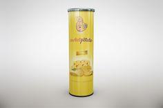Potato Tube Chips Mock Up by mockupstore.net on @creativemarket