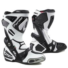forma ice pro motorcycle boots usa white