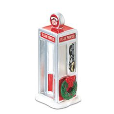 "Department 56: Products - ""Village Phone Booth"" - View Accessories"