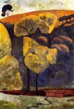 The Blue Valley, 1906, Paul Serusier