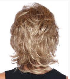 Medium Layered Haircuts for Fine Hair Medium Shag Haircuts, Short Shag Hairstyles, Shaggy Haircuts, Layered Haircuts, Men's Hairstyles, Drawing Hairstyles, Hairstyle Short, Fancy Hairstyles, Feathered Hairstyles