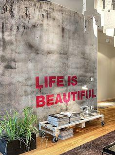 Blog Achados de Decoração: FAÇA VOCÊ MESMA: uma linda decoração de parede