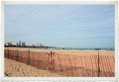 Chicago,North Avenue Beach, la spiaggia