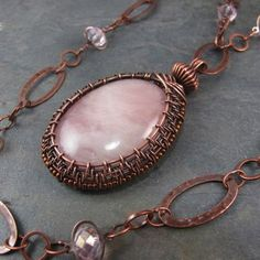 Wire weaving by Lisa Barth a wonderful artist
