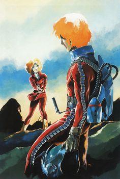 Sayla Mass (Artesia) encounter Char Aznable (Casval) - Mobile Suit Gundam 1979 & Origin