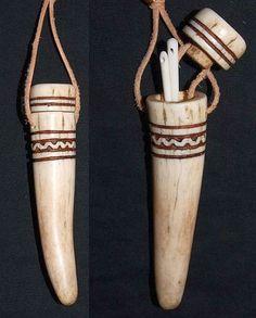 viking replica needle case.