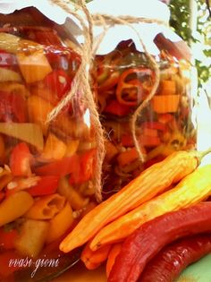 Carrots, Stuffed Peppers, Vegetables, Food, Canning, Stuffed Pepper, Essen, Carrot, Vegetable Recipes