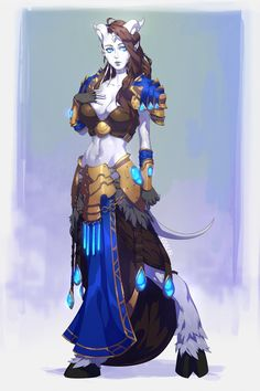 Draenei Art by Meadowlarking Fantasy Character Design, Character Concept, Character Inspiration, Character Art, Concept Art, Character Creation, Dungeons And Dragons Characters, Dnd Characters, Fantasy Characters