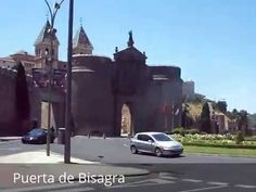 Places to see in ( Toledo - Spain ) Puerta de Bisagra  The Puerta de Bisagra is a city gate of Toledo Spain. Puerta de Bisagra was built in the 10th century in the time of the Moorish Taifa of Toledo in Islamic Al-Andalus.  Puerta de Bisagra is also called 'Bisagra Antigua' to distinguish it from the Puerta de Bisagra Nueva which was built in 1559. Puerta de Bisagra was the main entrance to the city and dates from the Moorish period.  ( Toledo - Spain ) is well know as a tourist destination…