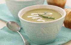 Asparagus Soup - a perfect Mrs. Dash recipe - mrsdash.com #saltsubstitute #nosalt