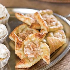 Pear Puff Pastries--I'd like to make these with a meat or cheese filling instead of fruit