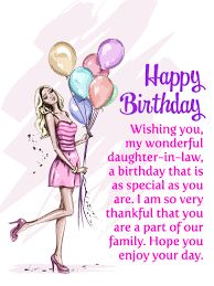 Are you looking for the best daughter in law birthday wishes or happy birthday wishes for daughter in law? We have birthday messages for daughter in law Happy Birthday Wishes Sister, Birthday Greetings For Daughter, Birthday Quotes For Her, Birthday Card Sayings, Birthday Wishes Quotes, Grandaughter Birthday Wishes, Birthday Verses, Birthday Sentiments, Card Sentiments