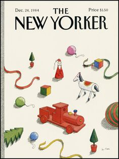 Pierre Le Tan - The New Yorker (anys 80)