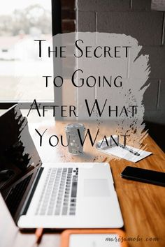 Have you ever wanted to know the secret to going after what you want? Today I'm sharing the simple mindset shift you can make to go after the life you want. Just Keep Going, Get What You Want, You Can Do, Told You So, Writing Process, Writing Tips, Time Management Strategies, Money Management, Go After
